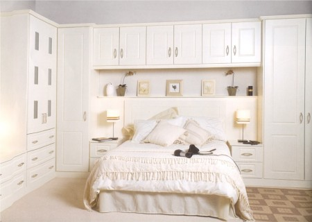 The Cashel Ivory traditional bedroom is available from Gee's Kitchens, Bedrooms & Flooring of Kildare